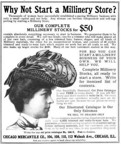 The Delineator ad Jan 1903