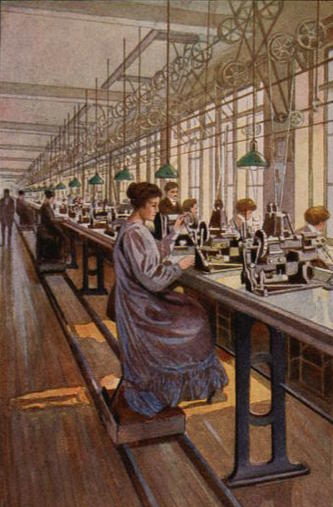 Women in Sewing Factory