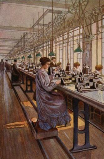 Women in Sewing Factory