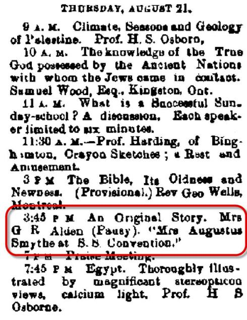 Auburn NY Daily Bulletin Aug 15 1879