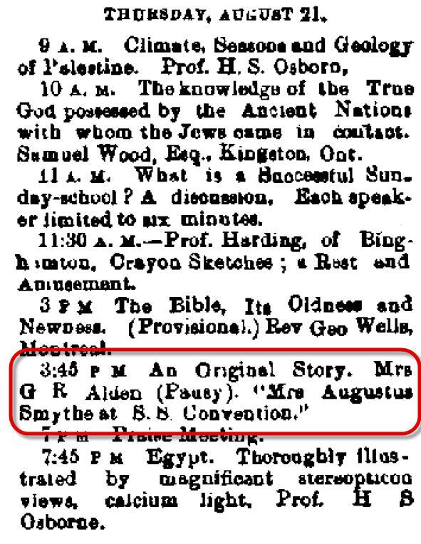 Auburn NY Daily Bulletin Aug 15 1879
