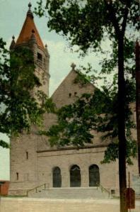 The Baptist Church in Gloversville, New York