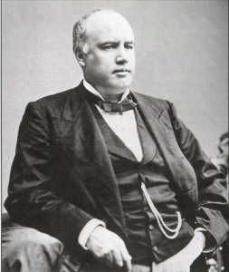 Undated photo of Robert G. Ingersoll