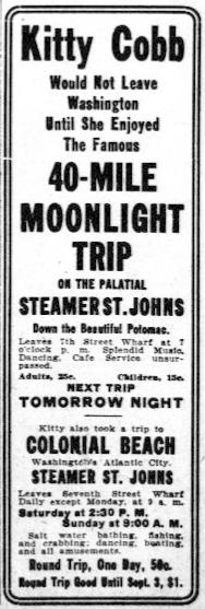Ad 2 in Washington Herald Aug 11 1912