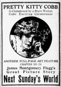 Ad in New York Evening World April 17 1912