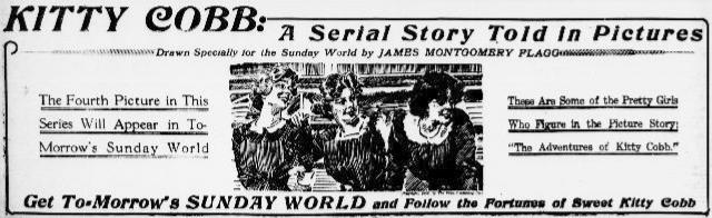 Ad in New York Evening World Feb 24 1912