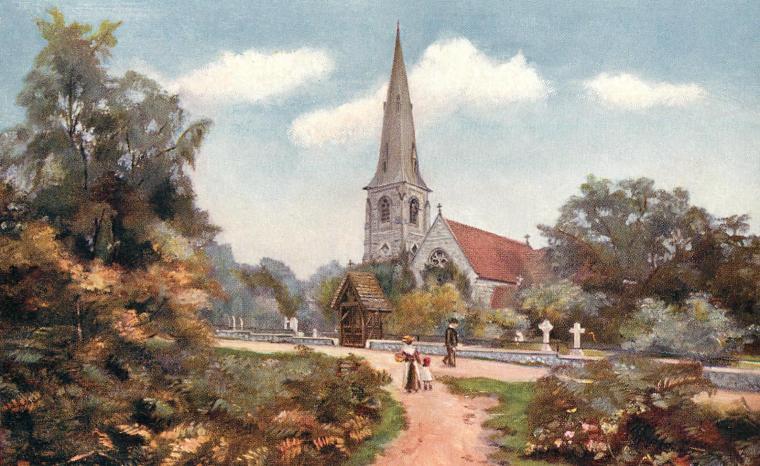 High Beech Church_Essex 1906 ed