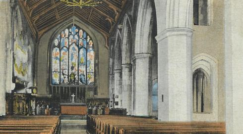 Interrupted Parish Church in Hampshire 1911 ed