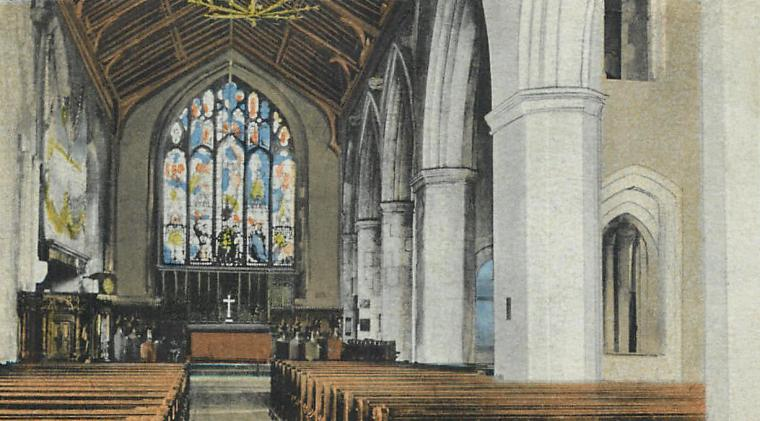 Interrupted Parish Church in Hampshire 1911 ed
