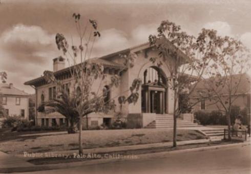 Palo Alto Public Library, circa 1907