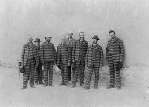 Polygamists in the Utah Penitentiary 1885