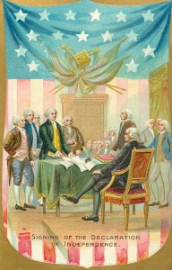 4th of July 1907 Declaration Signing