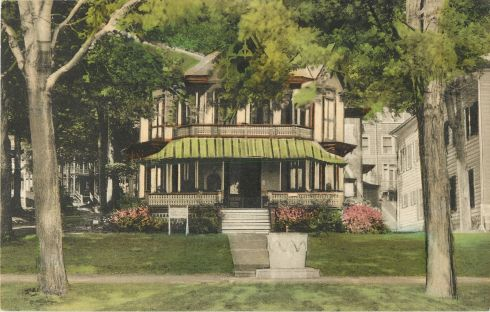 W.C.T.U. headquarters building at Chautauqua Institution, New York