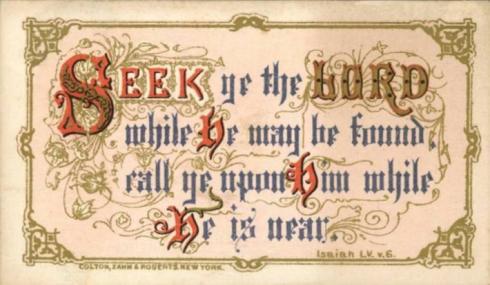 Card Isaiah