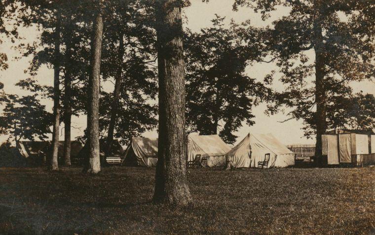 Chautauqua camping in 1908