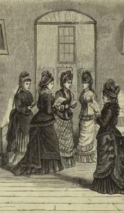 Ladies Praying and Singing 1879 ed