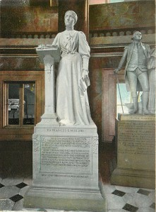 Statue of Frances Willard in the United States Capital, Washington D.C.