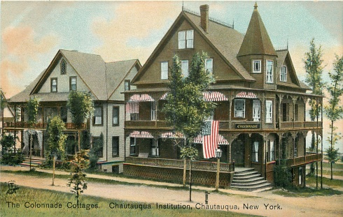 The Colonnade Cottages, 1908.