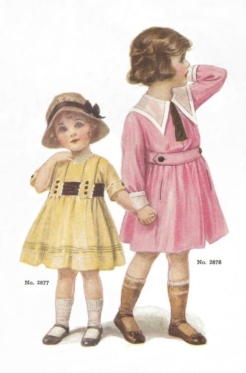 Children 1915 set a