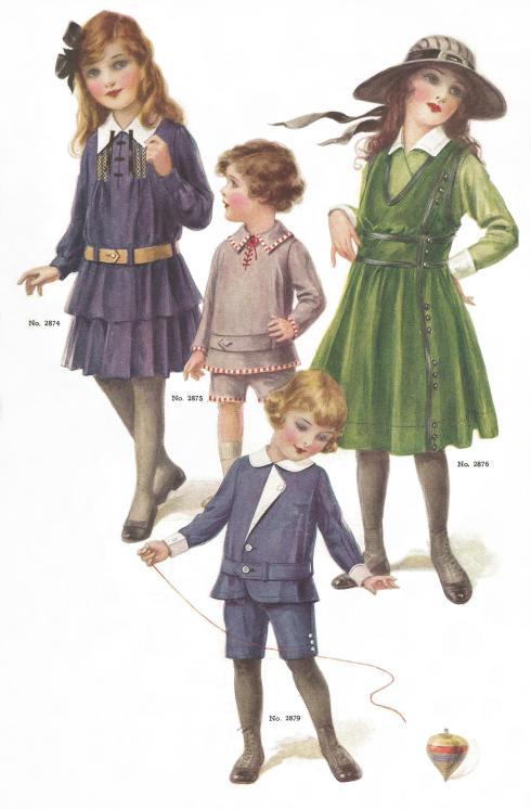 Children 1915 set c
