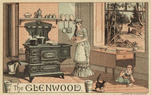 Kitchen stove Glenwood