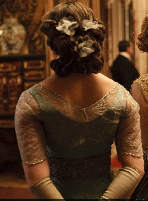 downton abbey hair styles isabella alden