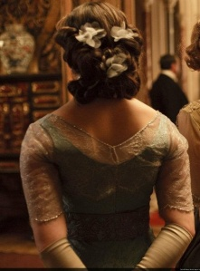 Lady Sybil Crawley's hair; Downton Abbey