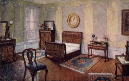 Illustration from a 1912 furniture store advertisement