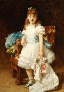 Lord Frederic Leighton_Lady Sybil Primrose