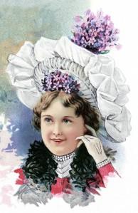 Bonnet from The Delineator Apr 1900