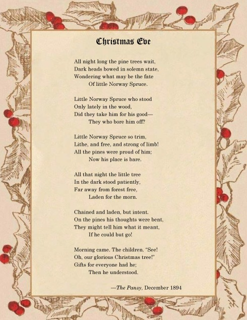Christmas Eve Poem