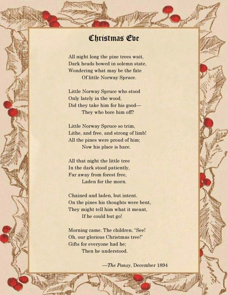 Christmas Eve Poem
