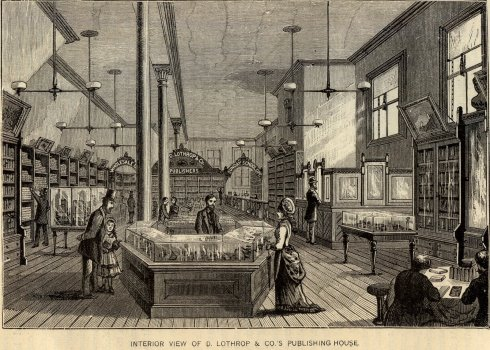D. Lothrop and Company sales room