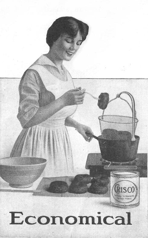 Donuts-Crisco ad 1915