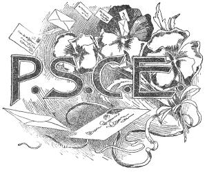 Logo for The Pansy Society of Christian Endeavor