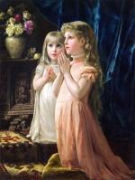 Erich Klimt_Two Girls Praying