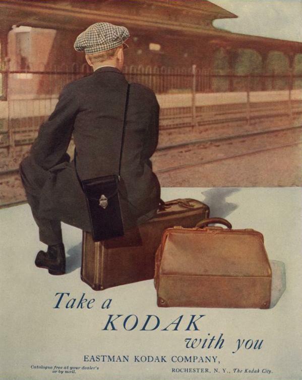 Kodak camera ad 1915