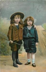A 1903 hand-colored photgraph