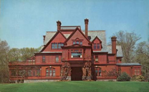 Glenmont, the Edison's home in West Orange, New Jersey.