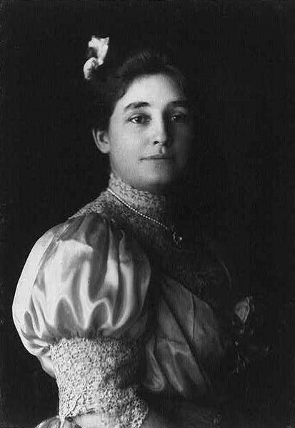 Mina Miller Edison, about 1906