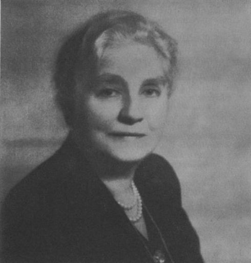 Mina Miller Edison in her later years.