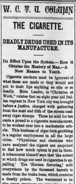 From The Enterprise (Wellington, Ohio). September 13, 1893.