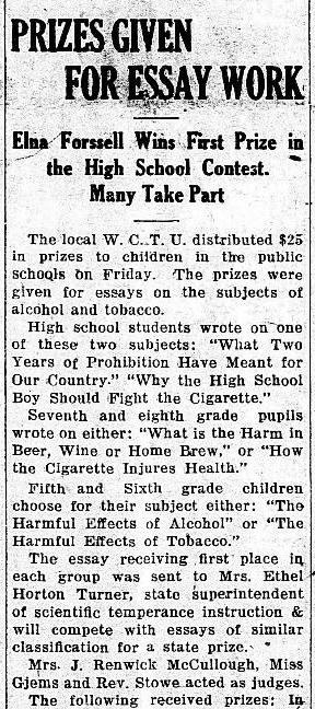The Willmar Tribune (Willmar, Minnesota). June 7, 1922.
