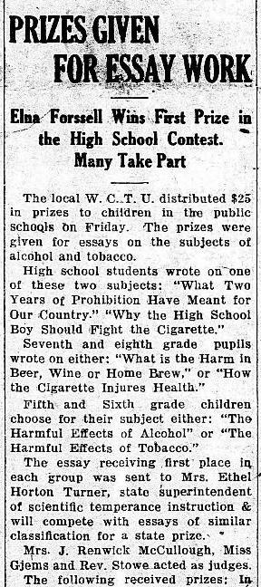 The Willmar Tribune (Willmar, Minnesota). June 7, 1922.