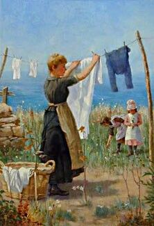 Apron and Laundry
