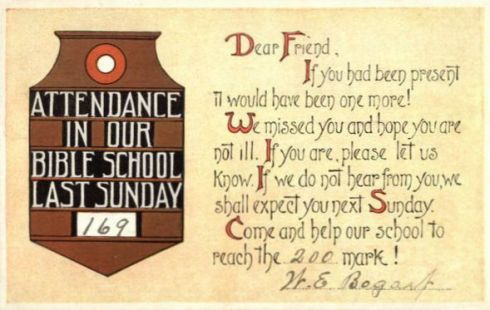 Come to Church 1914e