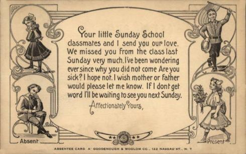 Come to Church card00361_fr