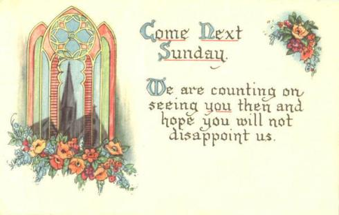 Come to Church card00594_fr