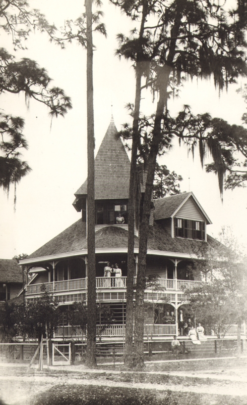 The Alden house in Winter Park. From Winter Park Public Library archives.