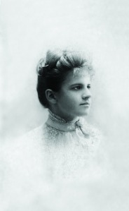 Grace Livingston Hill in her early twenties.